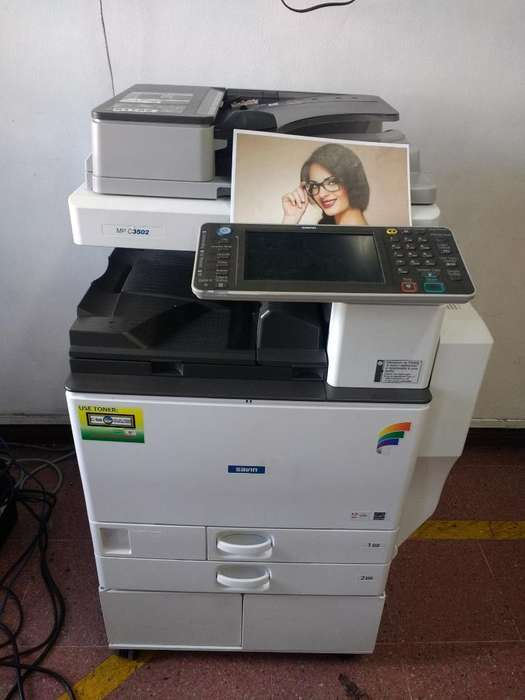 Fotocopiadora, impresora y escaner a Color Laser ricoh
