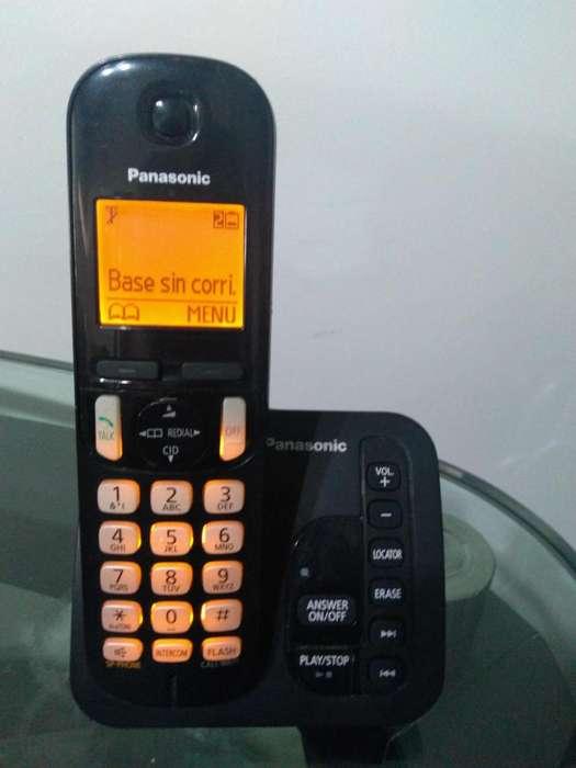 TELEFONO INALAMBRICO PANASONIC KX TGC 220 CONTESTADORA Y GRABADORA DE MENSAJES