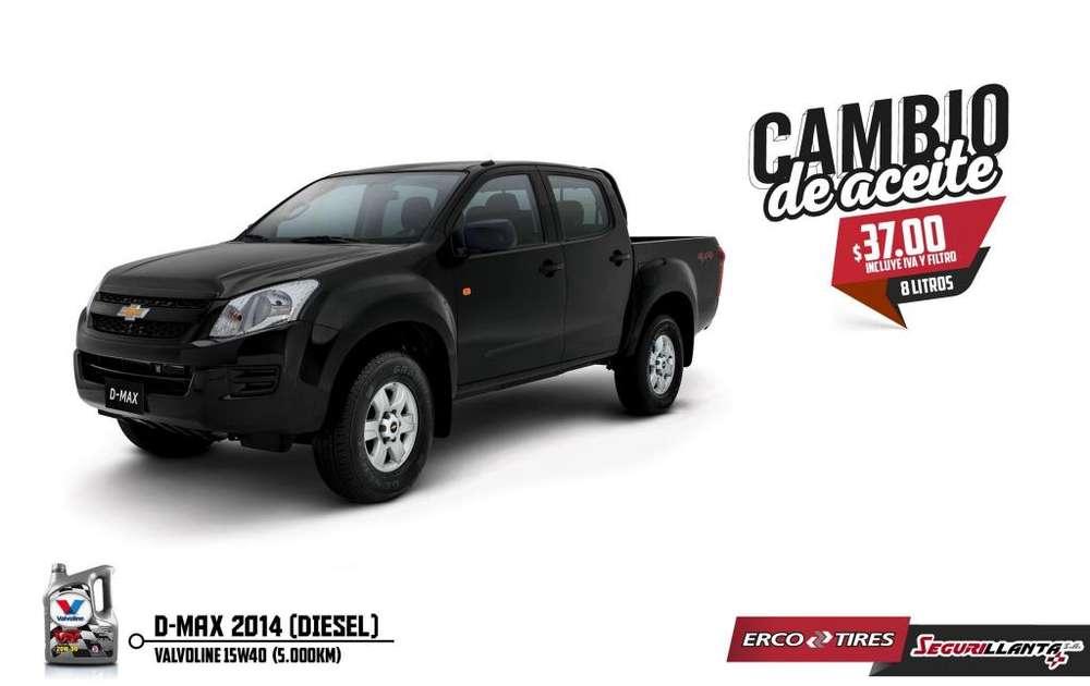 Cambio de Aceite - DMax 2014 Diesel - Valvoline.