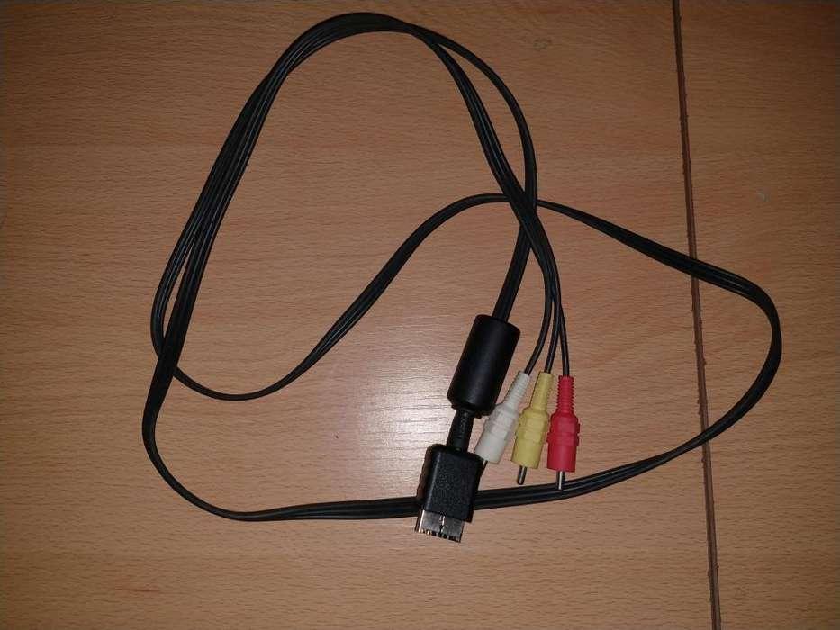 Cable Av Audio Video Ps1, Ps2 Y Ps3 Original Sony