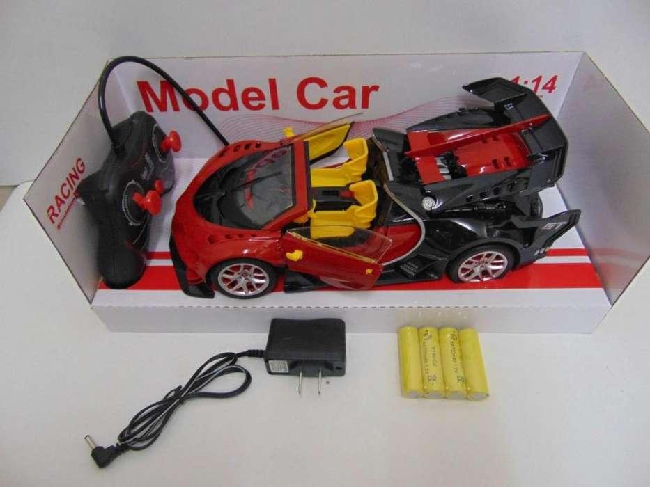 Grande Carro Deportivo Transformers A C/r Pilas Recargables