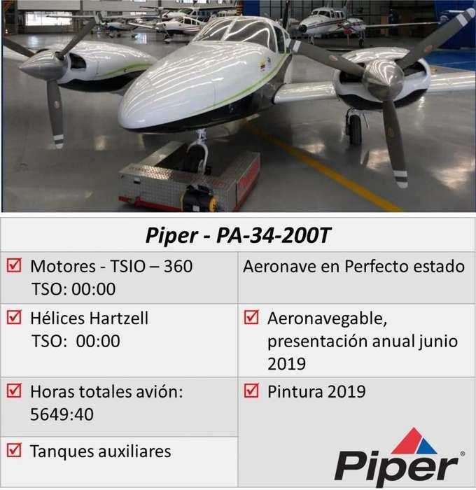 Avión Piper - Seneca II - ¡Gran Oportunidad!