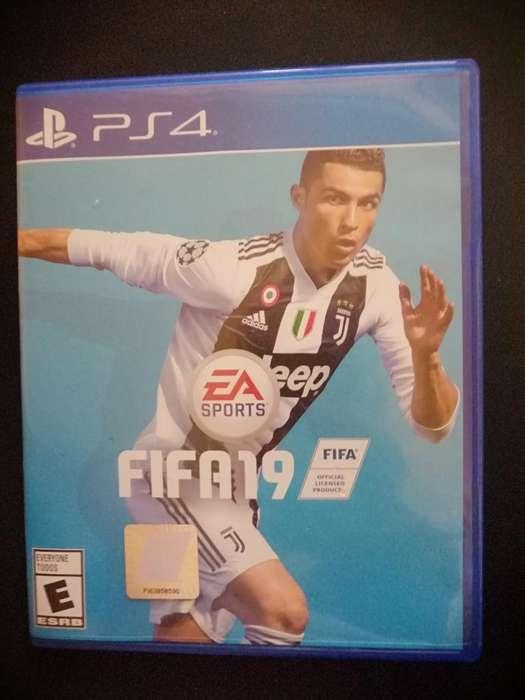 Fifa 19 Como Nuevo para Playstation 4
