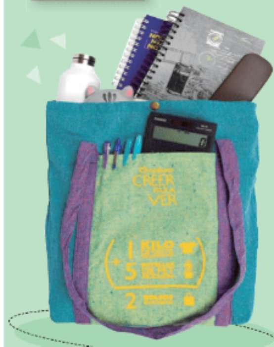 Bolso Ecológico. MATERIALES RECICLADOS. Negociable