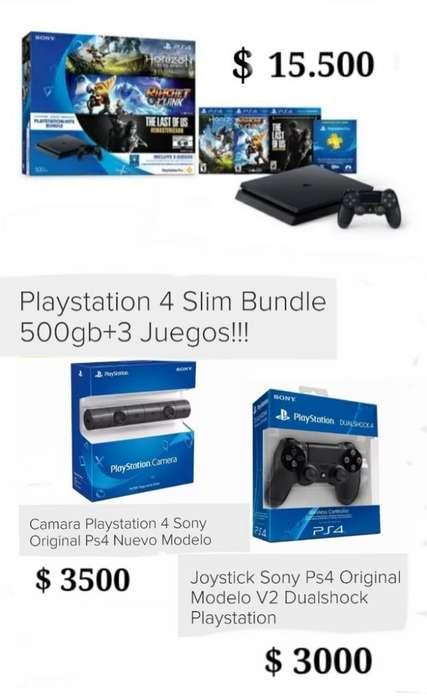 Vendo Play 4 Slim Bundle de 500 Gb con T