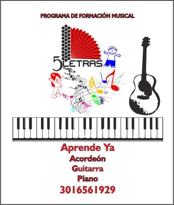 CLASES DE ACORDEON GUITARRA Y PIANO