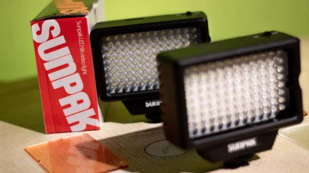 LUCES 96 LED PARA <strong>camaras</strong> REFLEX