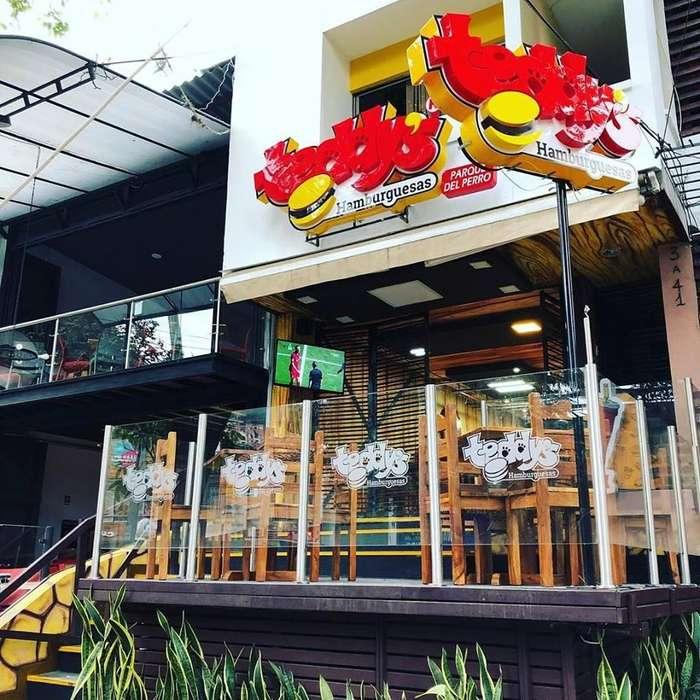 Restaurante Teddys Parque del perro