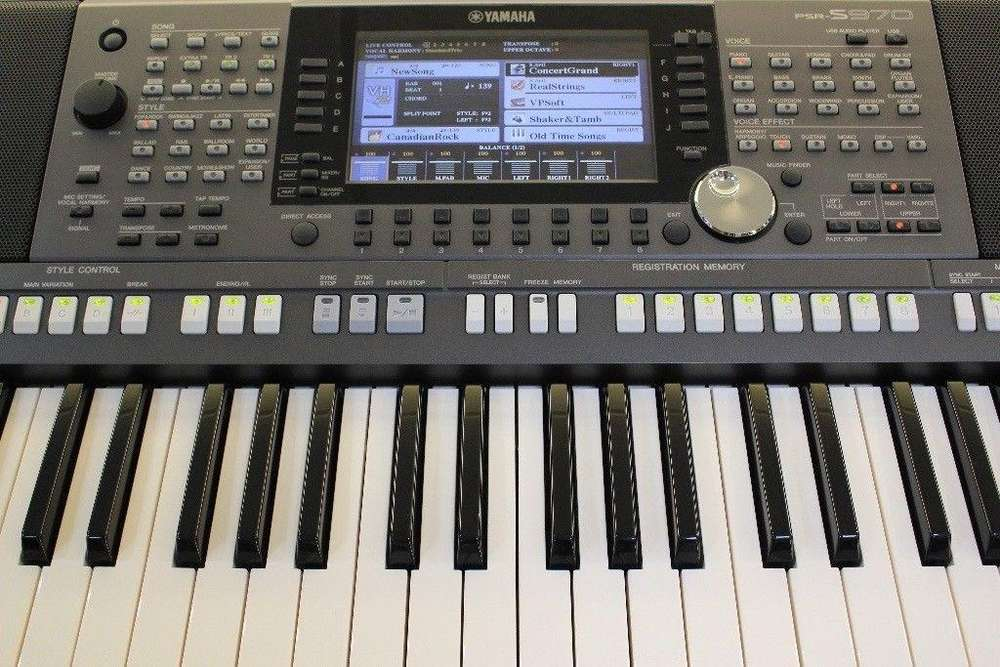 Workstation Yamaha Psr S970