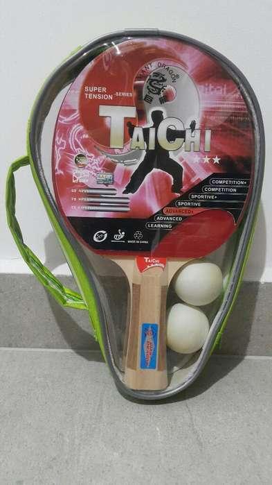 Set Raquetas Ping Pong Tenis de Mesa Nueva