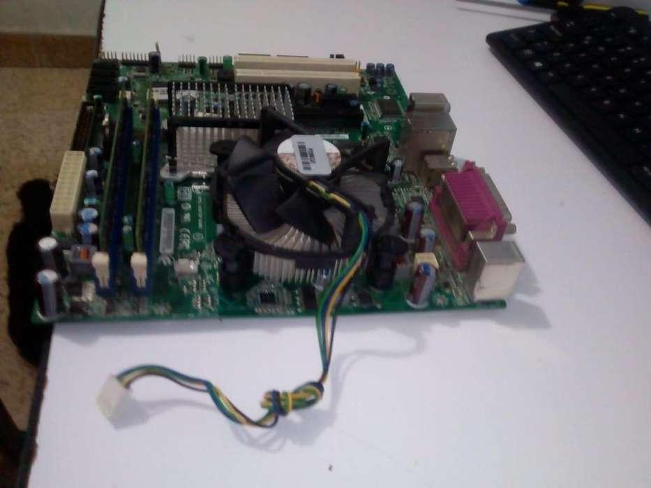 Combo Board 4 ram ddr2 disco duro ide de 80gb procesador intel