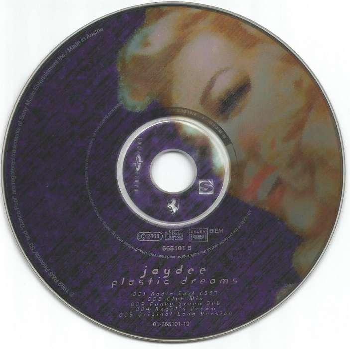 * PLASTIC DREAMS Jaydee singles para cd players Dj tornamesas digitales deejays Entrega a domicilio