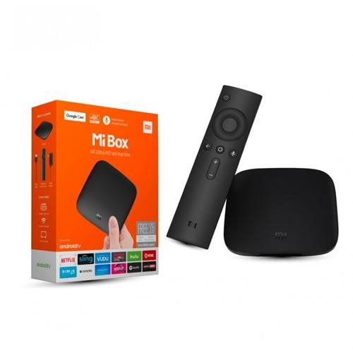 TV Box Android Streaming multimedia 4K Ultra HD Xiaomi Mi Box S 8GB HDMI 2.0