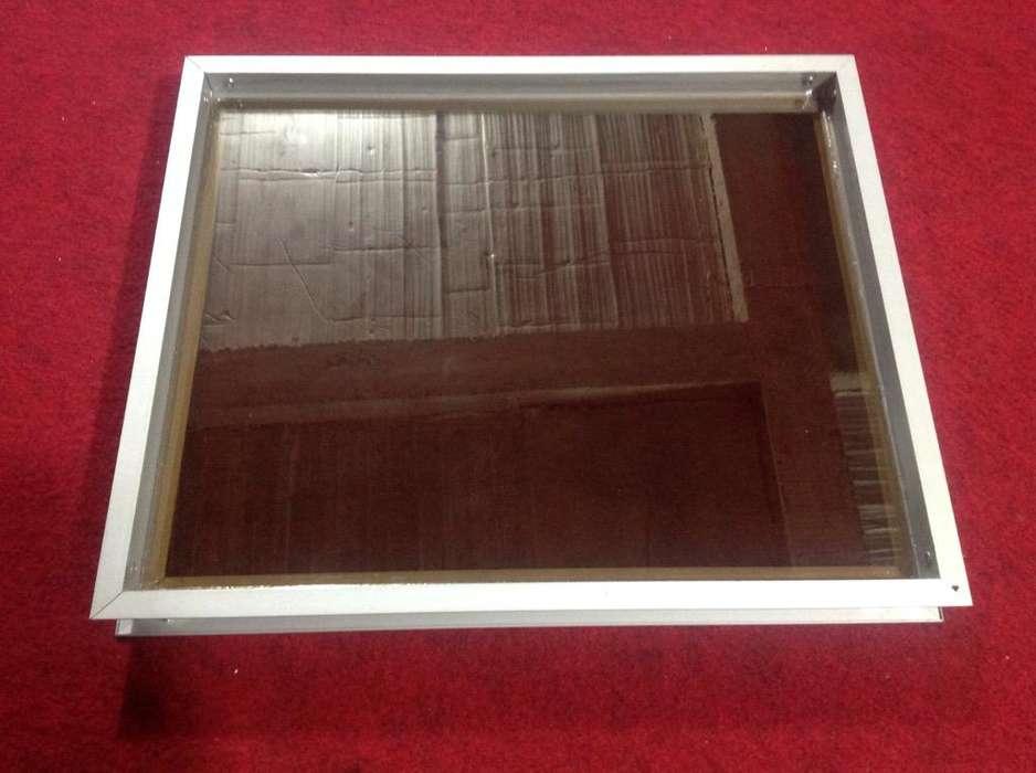Ventana Fija en Aluminio de 46.7X36.7