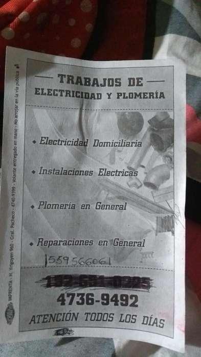 Electricidad, Plomeria