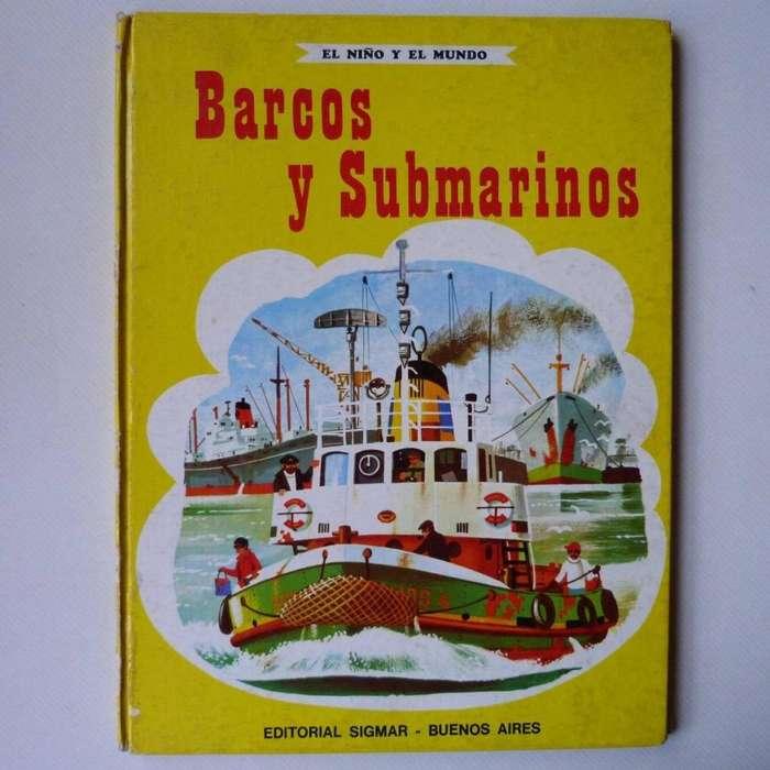 Barcos Y Submarinos, Ed. Sigmar 1974