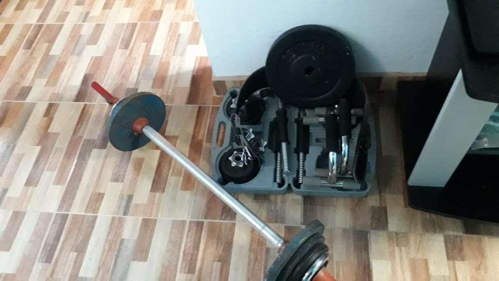 Vendo Kit Gym Economico Exelente Estado