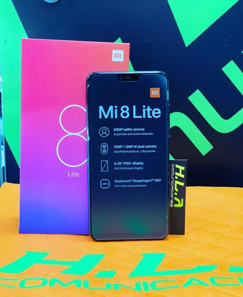 Mi8 Lite 64gb / 128Gb nuevos factura garantia domicilio sin costo HLACOMUNICACIONES