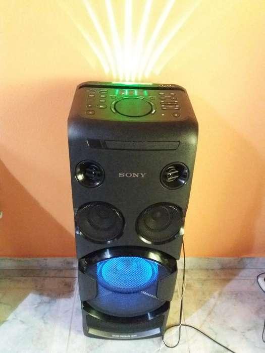 Vendo Torre Sony Mhc V44d Casi Nuevo