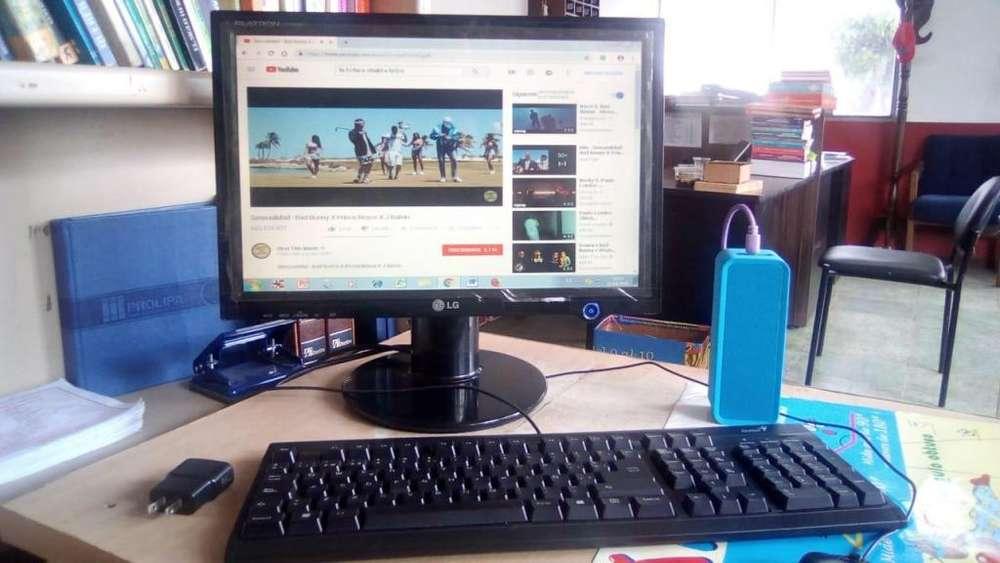 Computador Intel Celeron Dual Core 320 M 2gb <strong>monitor</strong> Led 16