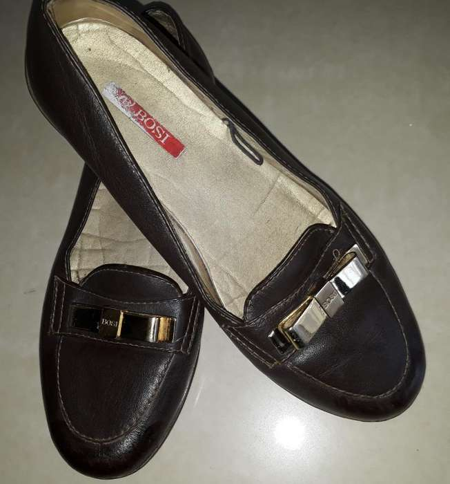 Zapatos Baletas Bossi Café No. 34