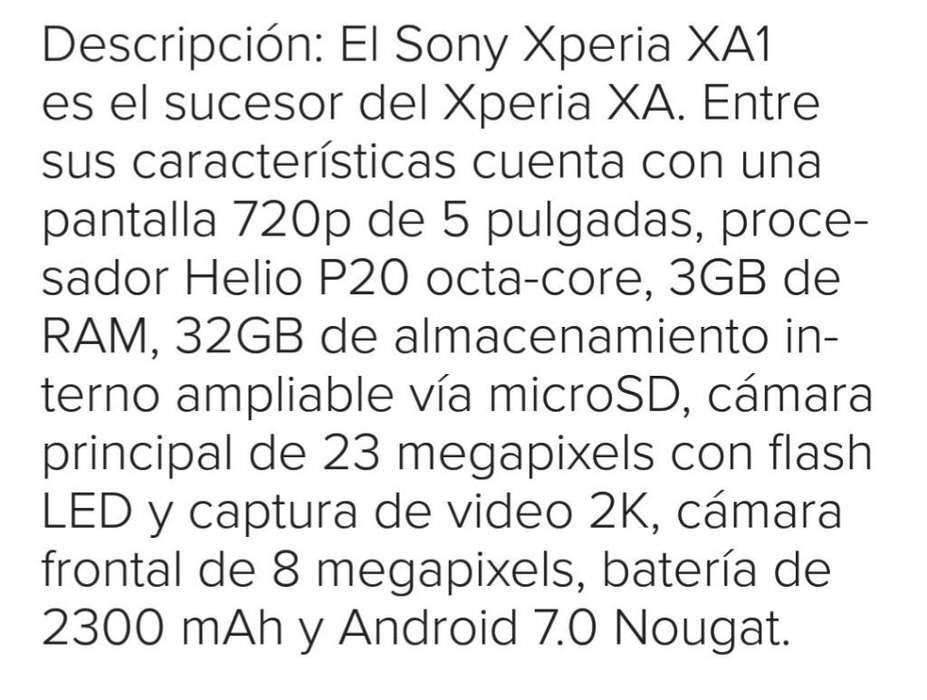 Celular Sony Xperia Xa1 Plus
