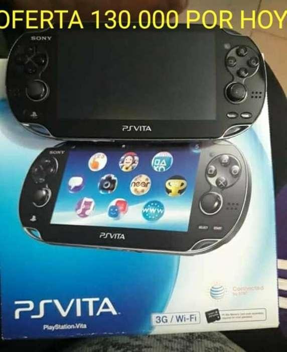 Psp Vita 32gb con Juegos