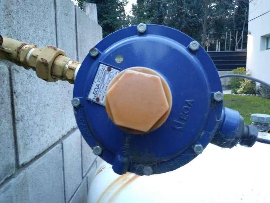 Regulador para gas envasado