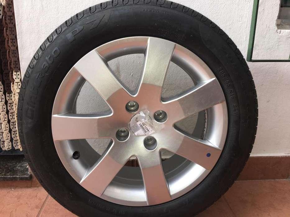 Kit 2 Cubiertas Pirelli P7 Cinturato 205 55 R16 dos <strong>llanta</strong>s Peugeot 408