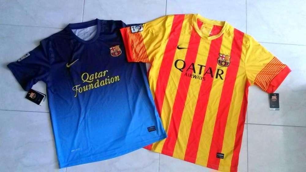 Camisetas del Barcelona, Nuevas, Tallas XL y M .....