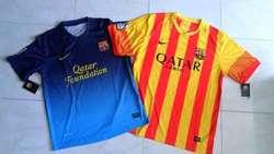 2 Camisetas del Barcelona, Nuevas, Tallas XL y M .....