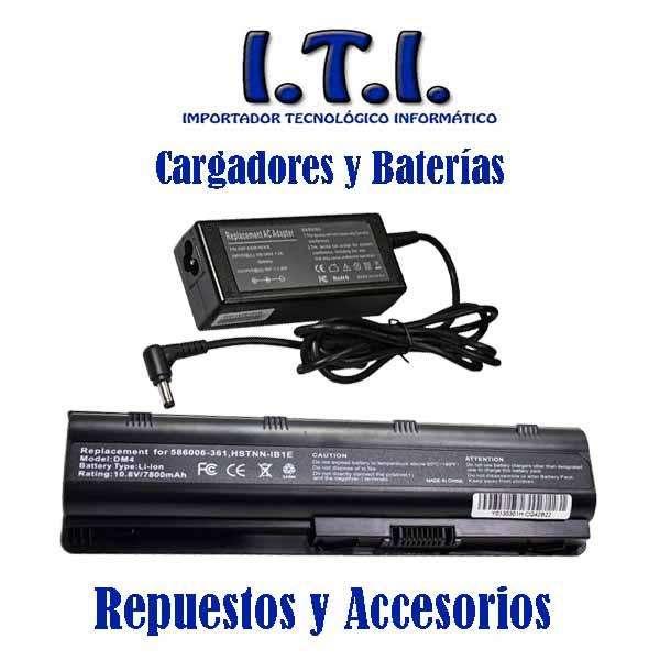Cargadores Y baterías de Laptop