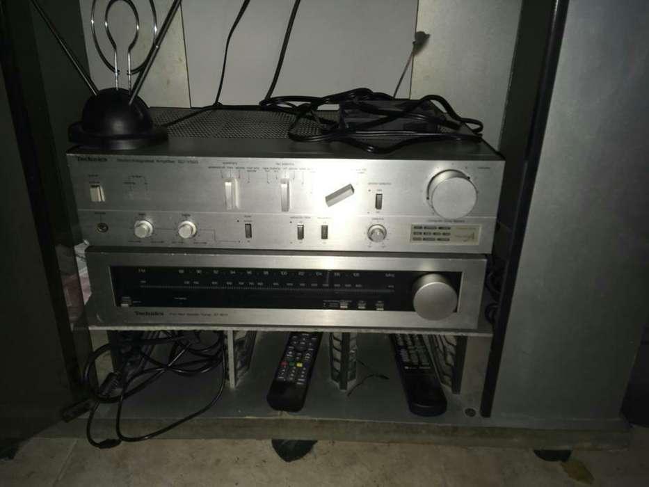 Amplificador Technics Modelo Su-v505,