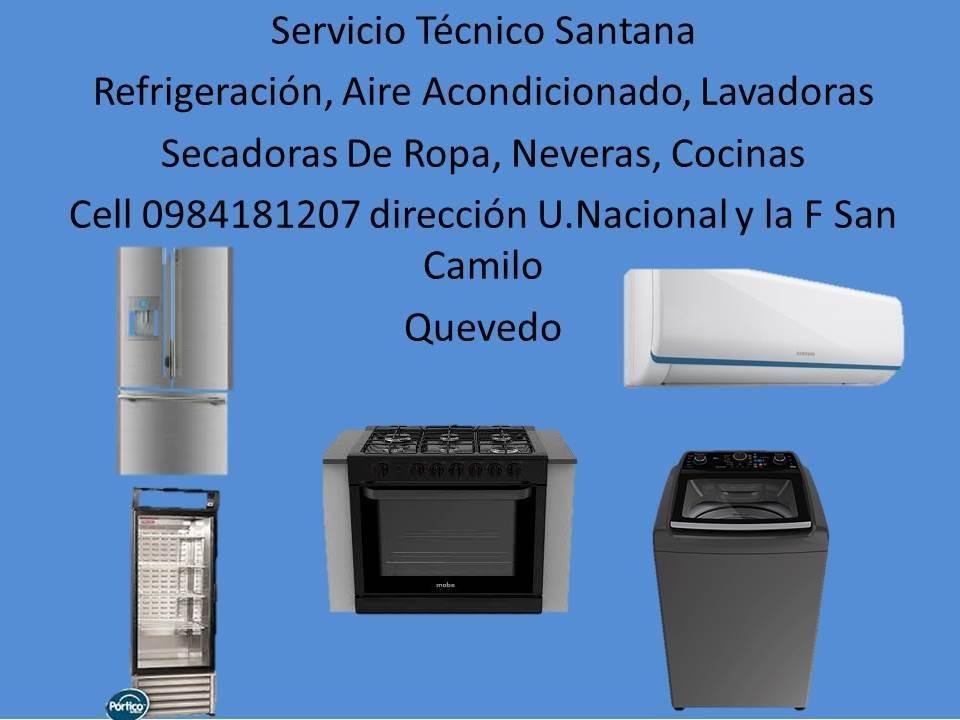 servicio tecnico de reparaciones y mantenimiento de aires acondicionados neveras lavadoras cocinas microhondas