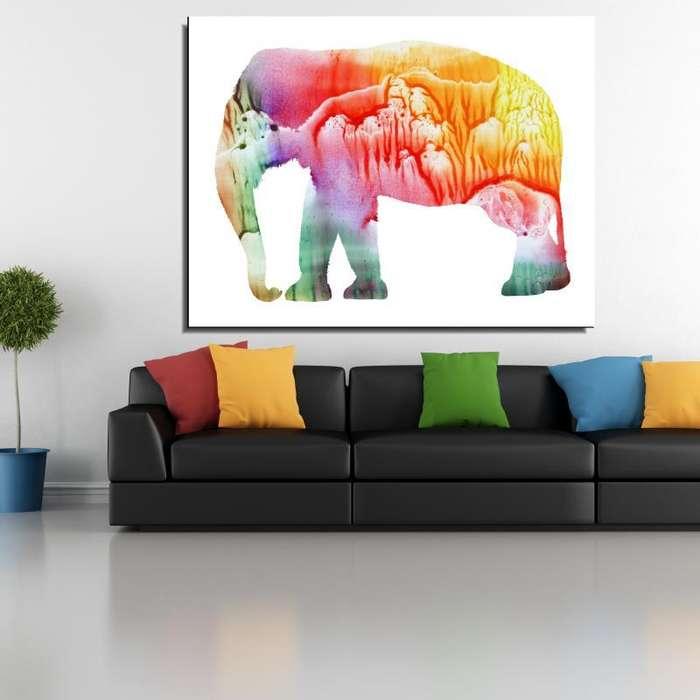 Cuadro de elefante 1788