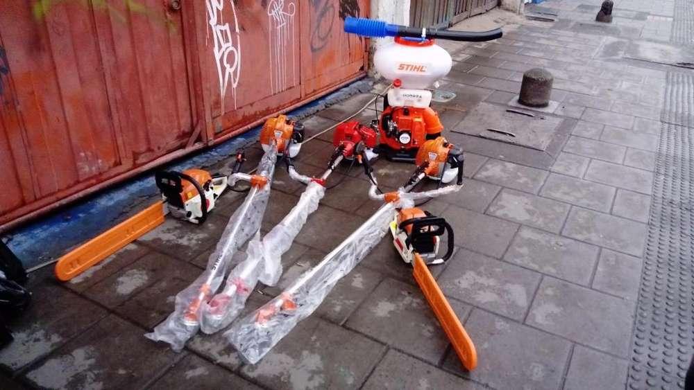 gran remate de herramienta para el agro guadañas motosierras fumigadoras precios de locura 3133536190