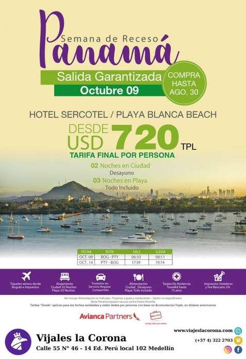 Viaje como un Rey a Panamá con Viajes la Corona ago 30