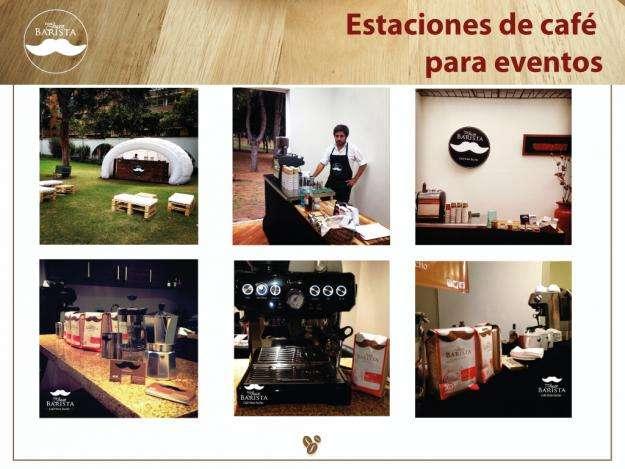 Estaciones de cafe para eventos / Catas de cafe Barras de café