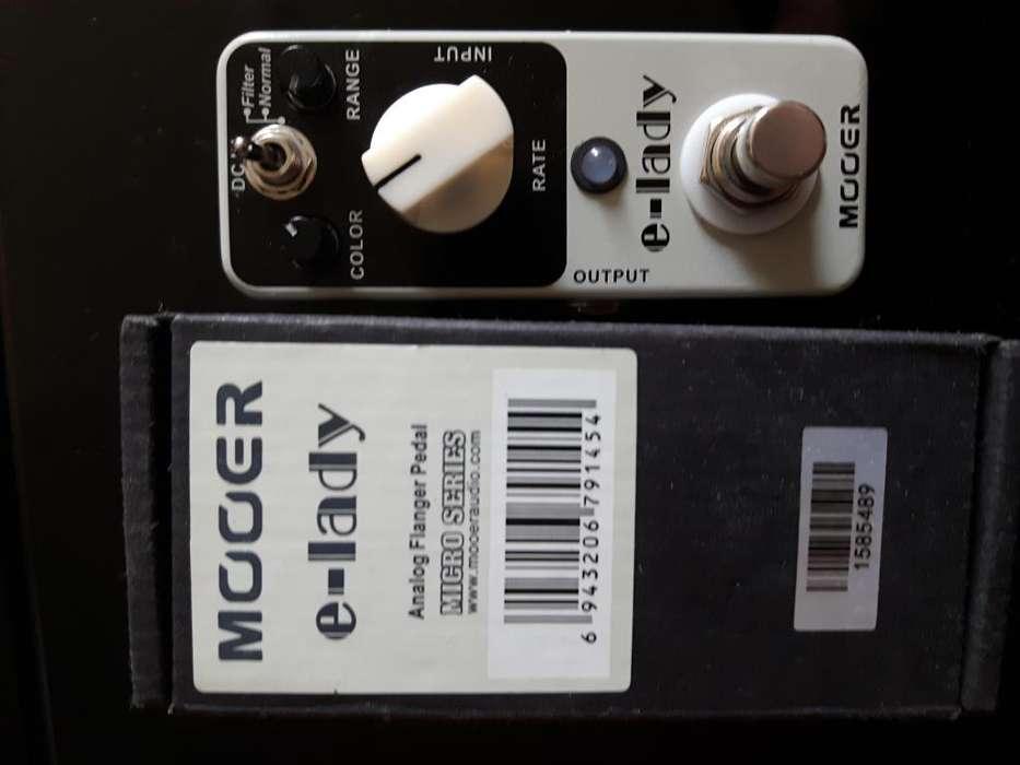Pedales de guitarra Analogos Flanger Distortion