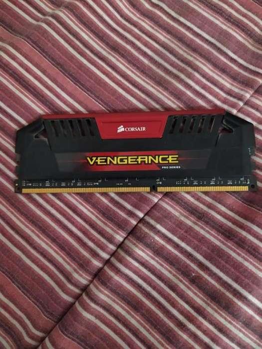 <strong>memoria</strong> RAM CORSAIR VENGEANCE 8 GB DDR3 1866 MHZ! EXCELENTE OPORTUNIDAD!