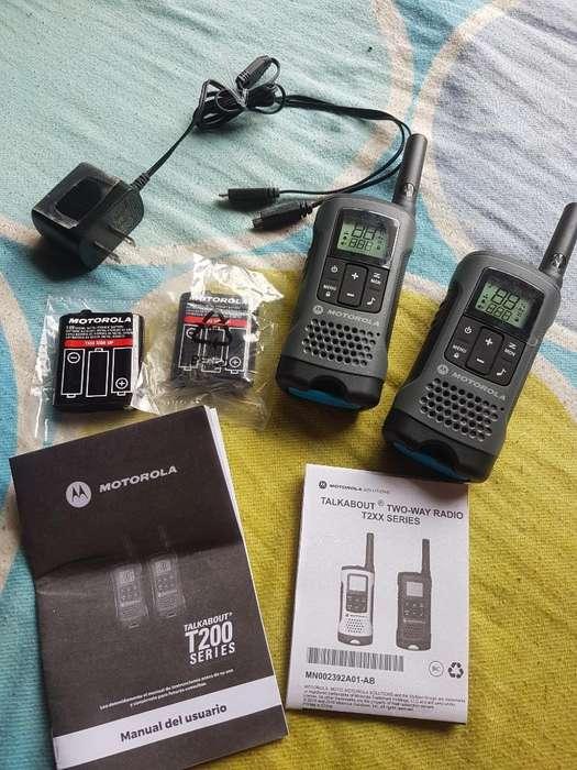Walkie Talkie Motorola Nuevos