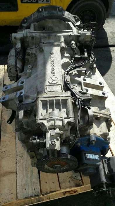 Caja Mercedes Benz Actros