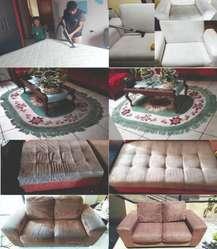 Lavado,limpieza y desinfección de Muebles, Colchones , Sillones ,Interiores de vehículos y mas