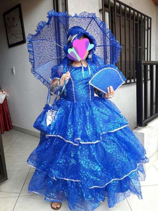 Disfraz de dama Antigua Caperucita princesa bella ratona y mariquit