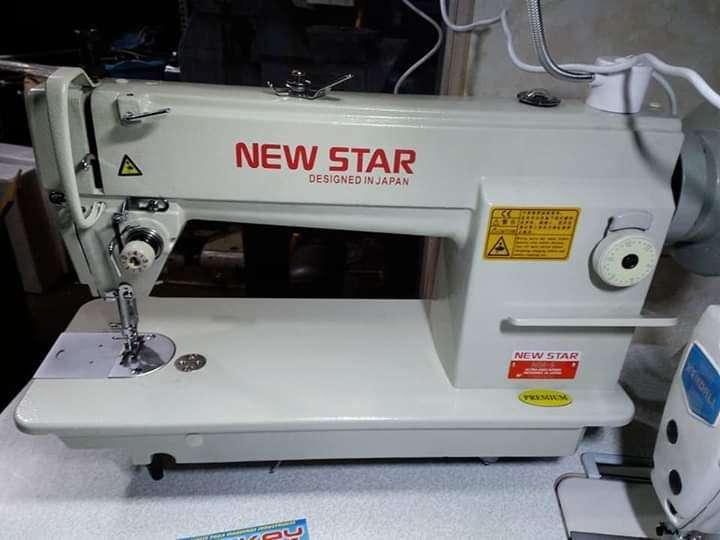 Maquina para coser cuero marroqui Marca new star