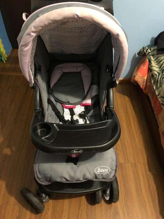 Coche para bebé plegable