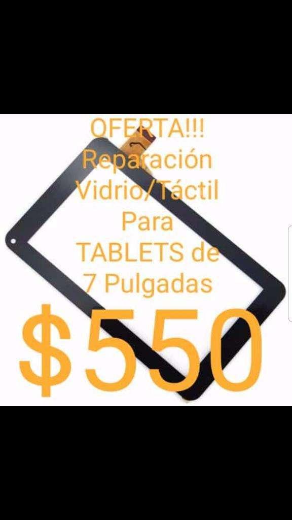 Oferta Reparación Tactil Tablet 7'