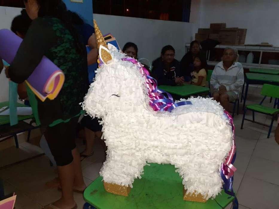 Piñata Unicornio Bien Elaborada