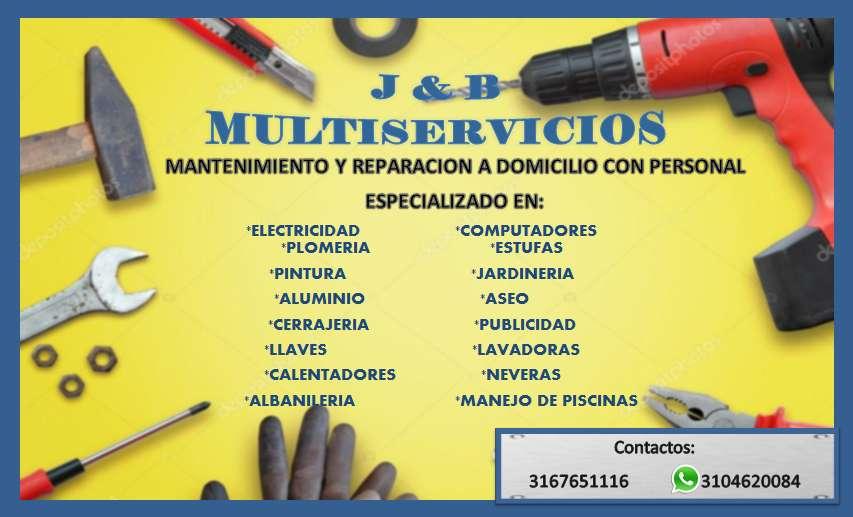 J & B MULTISERVICIOS mantenimiento y reparaciones a domicilio