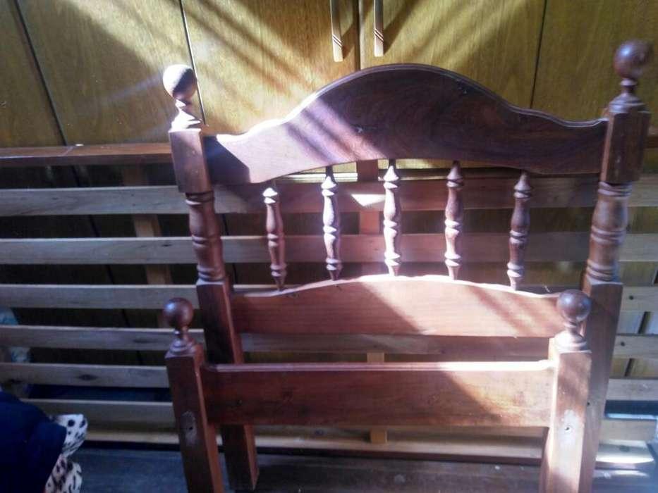 <strong>cama</strong> de Una Plaza Respaldos de Algarrobo